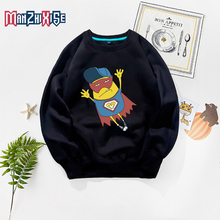 New Arrival Boys Sweatshirts Winter Autumn Creative Cartoon Superman Printing Fashion Long Sleeve Kids Clothes Boy Clothing Tops