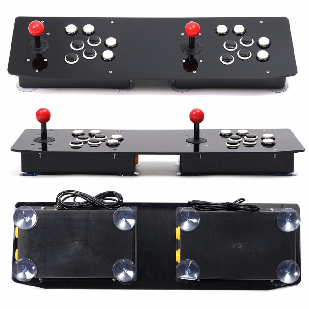 Conception ergonomique Double Arcade bâton jeu vidéo manette de jeu manette pour Windows PC profiter du jeu amusant - 5