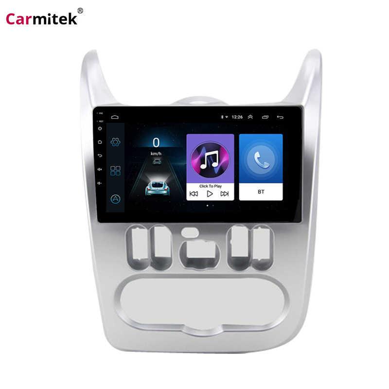 """9 """"Android автомобильный Радио dvd-плеер для Renault Logan 2009 2010 2011 2012 2013 Duster Sandero Dacia Capture мультимедиа головное устройство"""