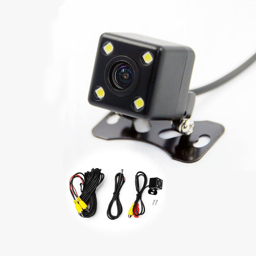 Универсальная квадратная Подключаемая Водонепроницаемая камера заднего вида камера ночного видения Автомобильная дополнительная Pc3089