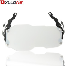 Motorcycle Stainless steel Headlight net protection cover Anti-fall For BMW R1200GS LC Adventure 2014-2018