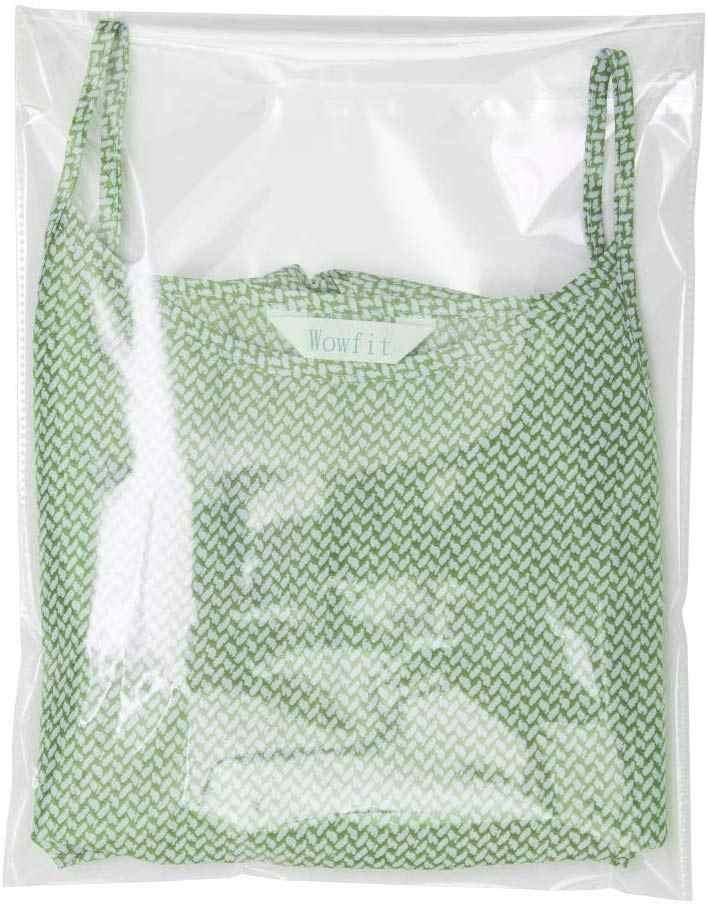واضح سميكة الذاتي لاصق البلاستيك السلوفان أكياس شفافة الملابس حزمة أكياس تخزين صغيرة الذاتي ختم OPP بولي حقيبة