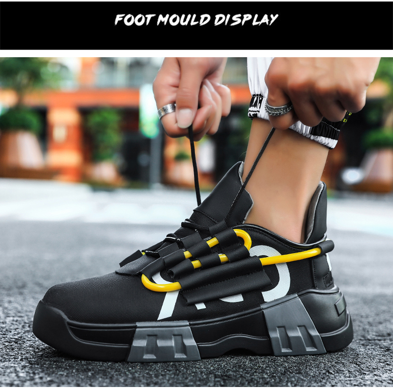 Fashion New Men Casual Shoes Men Sneaker Spring Summer 2019 New Arrival Men Shoes Lace-Up Breather Mesh Male Shoes Adult