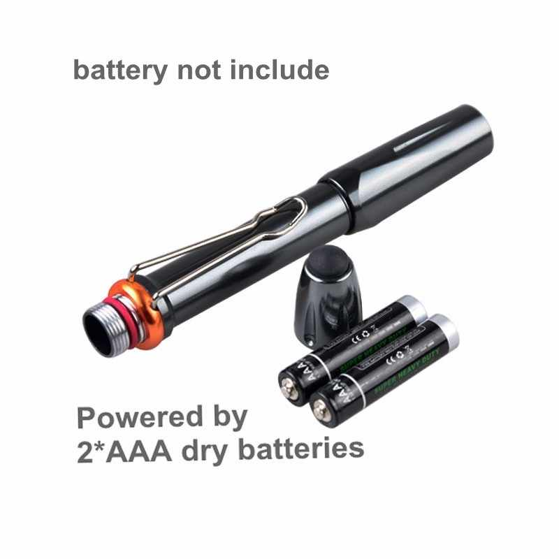 TMWT قوية 5 واط الأشعة فوق البنفسجية مصباح الغراء علاج القلم ضوء الأشعة فوق البنفسجية الضوء الأسود قلم بمصباح يدوي تحديد 390-39nm 36nm