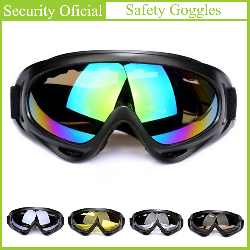 Dust-proof Chemical Goggles Skiing Eyewear Sunglasses Winter Outdoor Sports Windproof Tactical Labor Protection Safe Glasses New