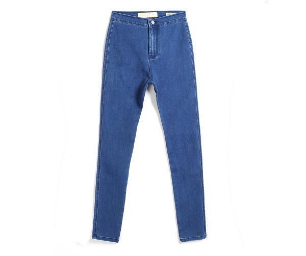 Ретро джинсы с высоким хвостом женские осенние модные обтягивающие джинсы для мамы и бойфренда женские синие джинсы Broek