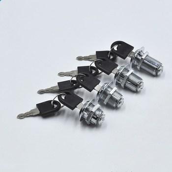 Zamki do szuflad z 2 blokada klawiszy sprzęt meblowy drzwi zamek meblowy do szafki na biurko skrzynka na listy zamki camlock 16mm 20mm 25mm 30mm tanie i dobre opinie Cabinet Lock