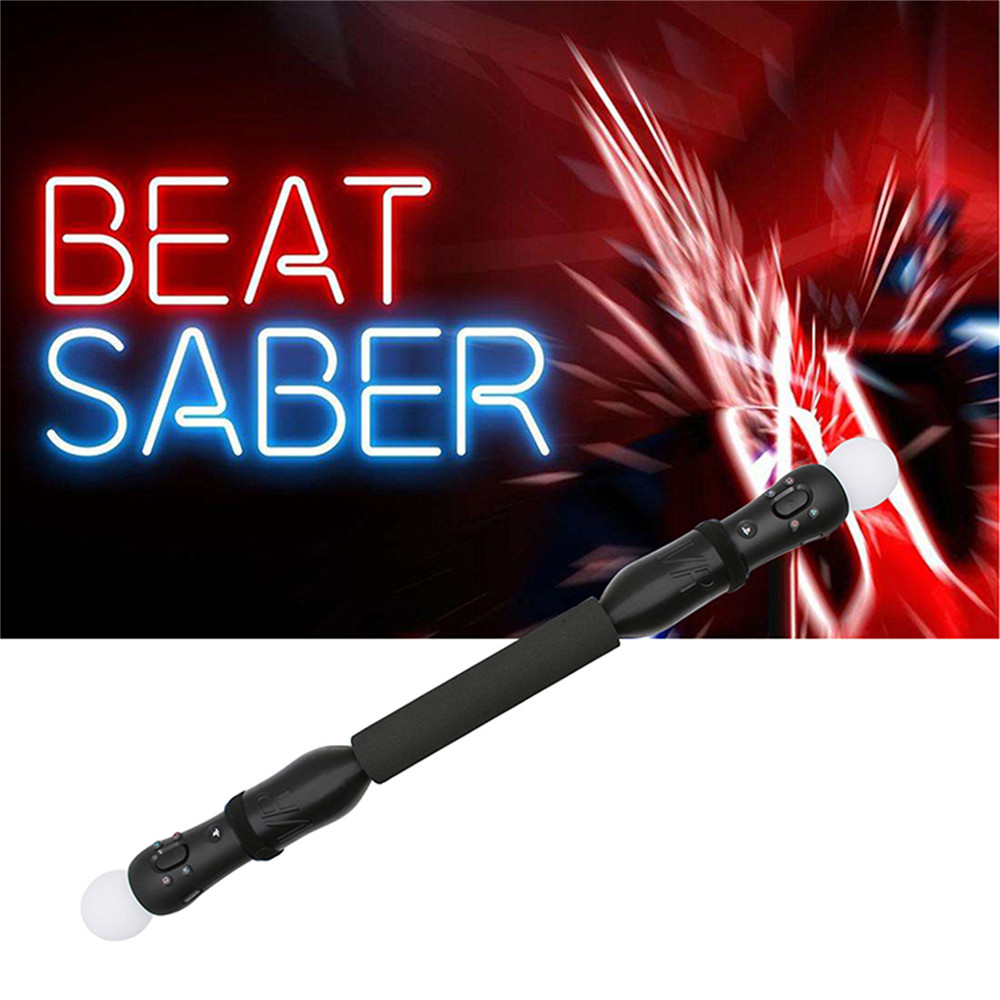 2pcs VR PSVR Handle Controller Game Stick Game Bar for Beat Saber Game Beat Saber Handles for PSVR image