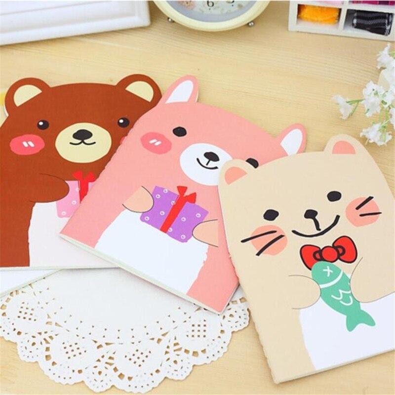 presentes caderno livro bebê para desenhos animados portátil