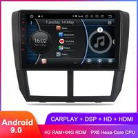 9 IPS Android 9.0 Carplay For Subaru Forester WRX 2008 2009 2010 2011 2012 Stereo Headunit GPS Navi DSP Audio Video BT 5.0