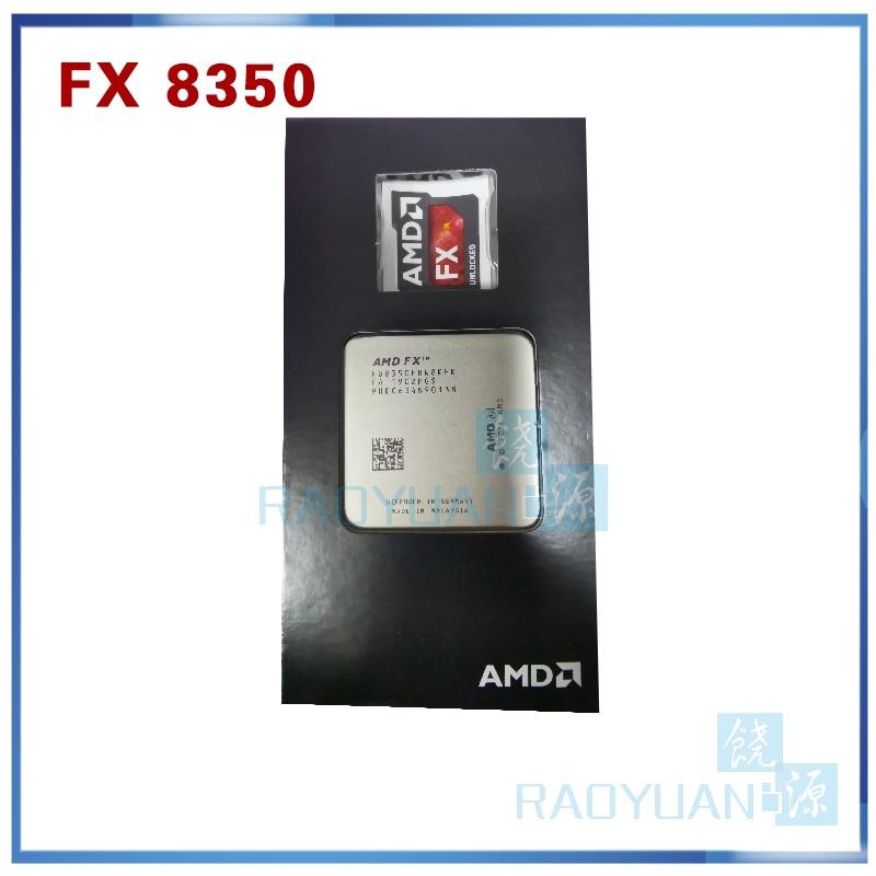 New AMD FX-Series FX-8350 FX 8350 FX8350 4.0G 125W FD8350FRW8KHK Eight CORE Socket AM3+