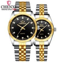 CHENXI Лидирующий бренд влюбленных пар кварцевые мужские часы женские подарок на день Святого Валентина часы женские 30 м Водонепроницаемые наручные часы