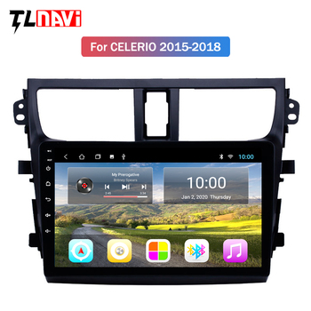 2G RAM for 2015-2018 Suzuki Celerio Android 9 HD Touchscreen 9 inch Head Unit car GPS Radio image