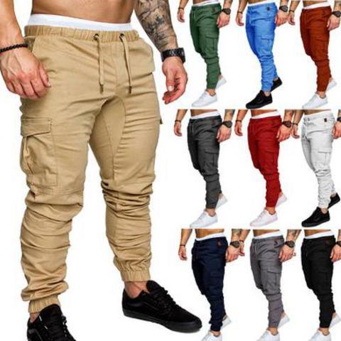 2019 Men Pants New Fashion Men Jogger Pants Men Fitness Bodybuilding Gyms Pants For Runners Clothing Autumn Sweatpants Size Pakistan