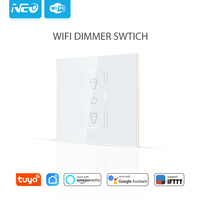 WiFi EU Dimmer Switch Smart Wireless Dimmer Switch Workes with Alexa Echo and google home Smart Switch