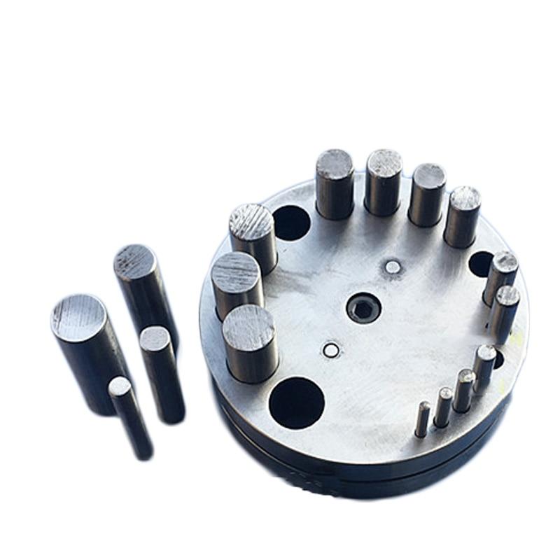 Высокое качество ювелирные инструменты 17 отверстий круговой пробойник DIY ювелирные изделия для обработки металла дисковый резак