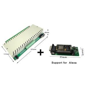 Image 2 - 32 + 6CH inteligentny dom przełącznik System automatyki moduł kontroler APP/PC pilot Alexa Ethernet 250V10A TCP IP przekaźnik Domotica