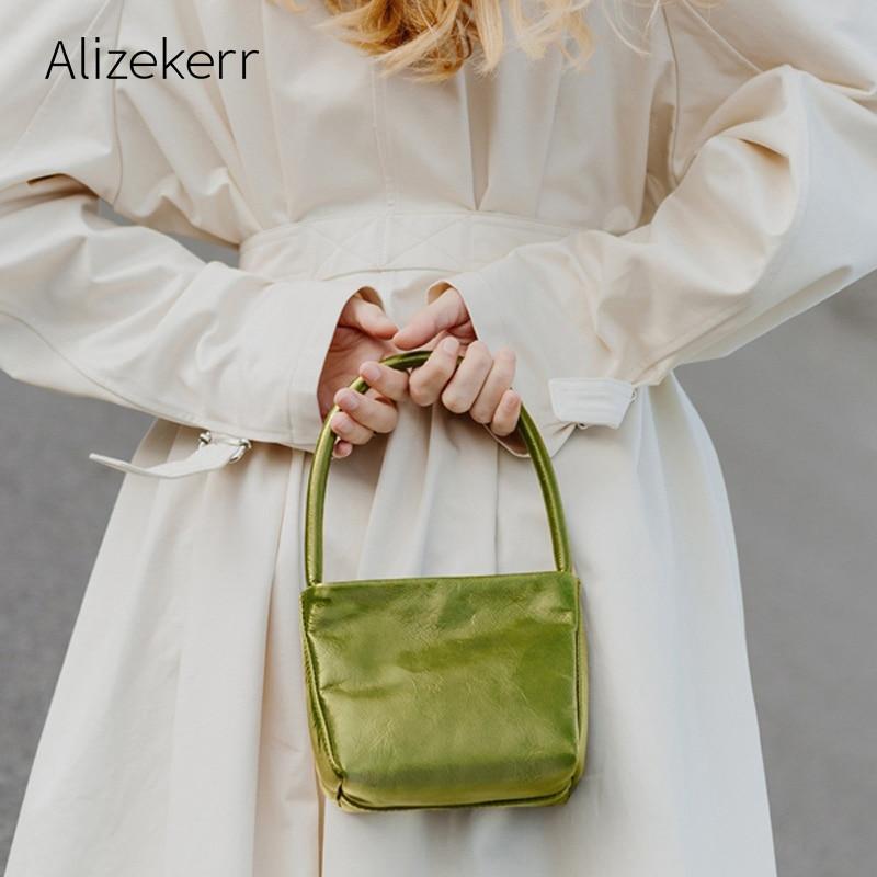 Mini Retro Shoulder Bag Women 2019 New Cute Solid Soft Underarm Small Flap Totes Handbag Female Fashion Versatile Casual Purses