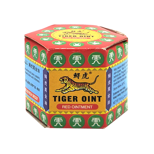100% Original Red Tiger Balm Ointment Thailand Painkiller Ointment Muscle Pain Relief Ointment Soothe itch 19.5g 1