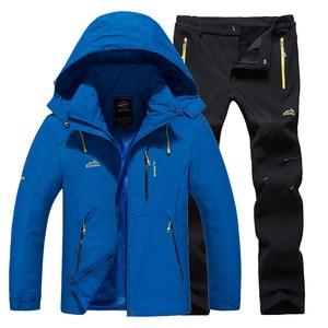Image 2 - Ski Suit Women Warm Waterproof Skiing Suits Set Ladies Outdoor Sport Winter Coats Snowboard Snow Jackets and Pants Lawele Hoolau