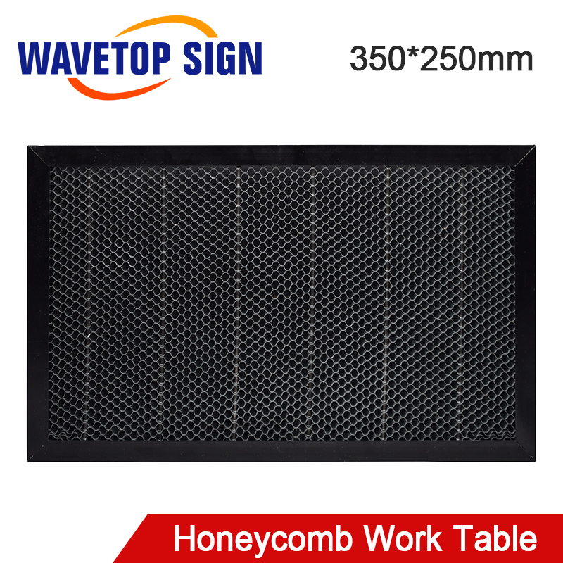 WaveTopSign Laser Honeycomb Working Table 350*250mm Size Board Platform Laser Parts For CO2 Laser Engraver Cutting Machine