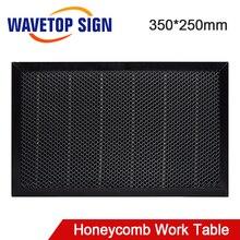 WaveTopSign Laser Honeycomb stół roboczy 350*250mm rozmiar pokładzie platformy części laserowe do CO2 maszyna do grawerowania i cięcia laserowego