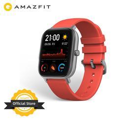 Глобальная версия Amazfit GTS Смарт-часы 5ATM водонепроницаемые купальные Смарт-часы Новые 14 дней батареи редактируемые Widgets для Android