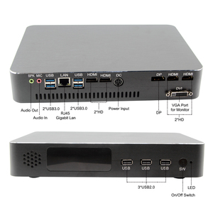 Image 3 - Игровой компьютер Intel i5 9400F 6 ядер 6 потоков i7 8700 i3 9100F Nvidia GTX 1050TI мини ПК 2 * DDR4 2 * HDMI 2,0 1 * DP 1 * DVI WiFi