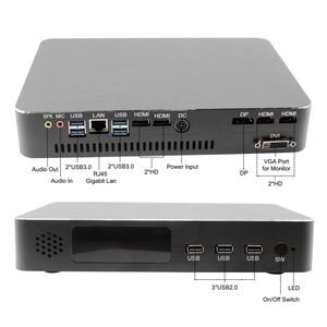 Image 2 - Ordinateur de jeu Intel i5 9400F 6 cœurs 6 fils i7 8700 i3 9100F Nvidia GTX 1050TI Mini PC 2 * DDR4 2 * HDMI 2.0 1 * DP 1 * DVI WiFi