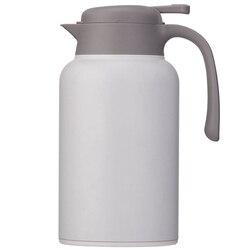 Thermal Coffee Carafe Stainless Steel   Heavy Duty  24Hr Lab Tested Heat Retention  2 Liter 68Oz Insulated Coffee Thermos  Water w Dzbanki do kawy od Dom i ogród na