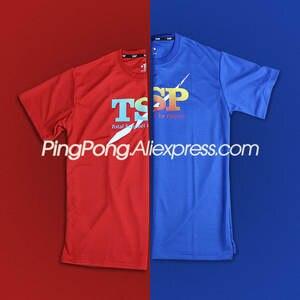 TSP футболки для настольного тенниса для мужчин и женщин, мужская одежда 83501 83505 детской одежды