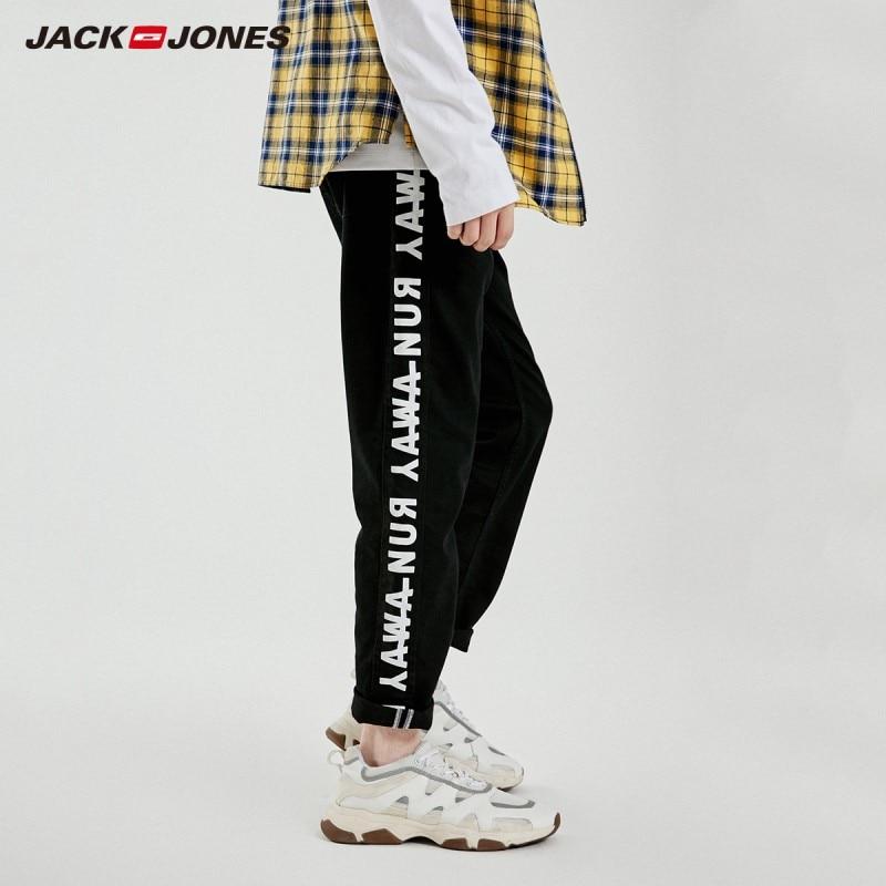 JackJones Men's Slim Fit Ankle-length Jeans Menswear Streetwear 219132560