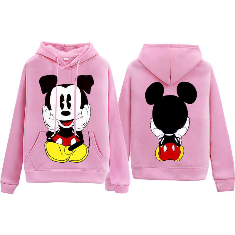 Mickey Mouse Print Hoodie Mickey Student Kleding Mannen/Vrouwen Hoodies Casual Tops Cartoon Mode Sweatwear Hooded Xxxl Top Sale