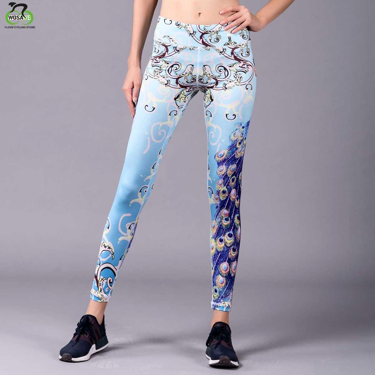 Barbok ליפס הדפסת חמוד ילדה יוגה מכנסיים ריצה כושר נער חותלות צבעוני נשים סקיני ספורט מכנסיים Slim