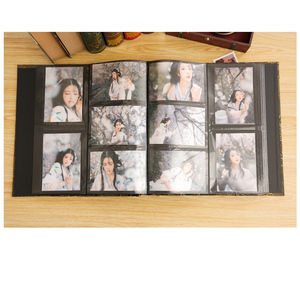 Image 3 - 6 inç 800 plastik cepler fotoğraf albümü aile eklemek büyük kapasiteli deri kılıf galeri aile bellek kayıt karalama defteri albümü