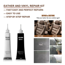 Улучшенный ремонт кожи, ремонт кожи, гель для салона автомобиля, домашний ремонт кожи, крем для кожи, дополнительный цвет, крем-агент