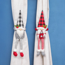 Tie-Rope Curtain-Straps Creative Doll Man Old Lace Christmas-Ornaments Door-Hang