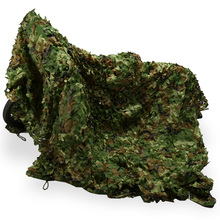 Camouflage Net Netting-Cover Blinds Jungle Woodlands Outdoor Camping 10--10cm