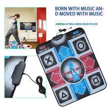 Новые Нескользящие прочные танцевальные коврики, USB оборудование для фитнеса с ПК