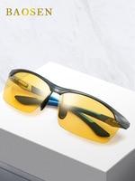 Polarized Sunglasses Men's Anti Glare UV Protection Day And Night Dual Purpose Night Vision Glasses Evening Driving Driver Speci