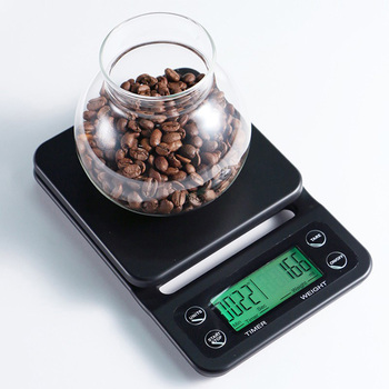 Precision Drip Coffee Scale With Timer Multifunction kitchen scale LCD digital food Scale for Baking & Cooking weighing tools