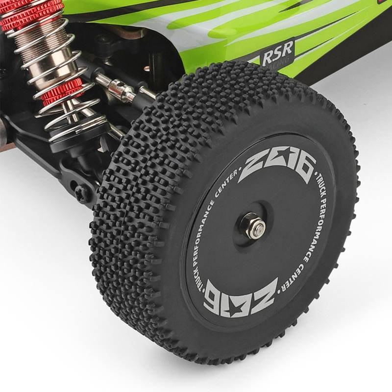 Di Alta Qualità Wltoys 144001 1/14 2.4G di Controllo Remoto Rc Auto 4WD Ad Alta Velocità da Corsa Modelli di Veicoli 60Km/H Dei Bambini regalo Giocattoli - 4