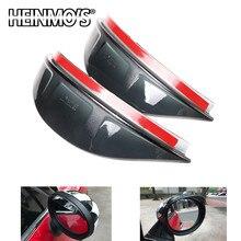 Espelho retrovisor do carro chuva sobrancelha para mini cooper jcw clubman countryman f54 f55 f56 f57 f60 viseira acessórios de proteção