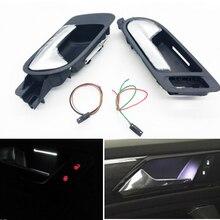 Передняя дверь левая и правая внутренняя дверная ручка включают в себя Внутренняя дверь на высокой ручке, атмосферная лампа для Mercedes-Benz V W PQ35 Tiguan