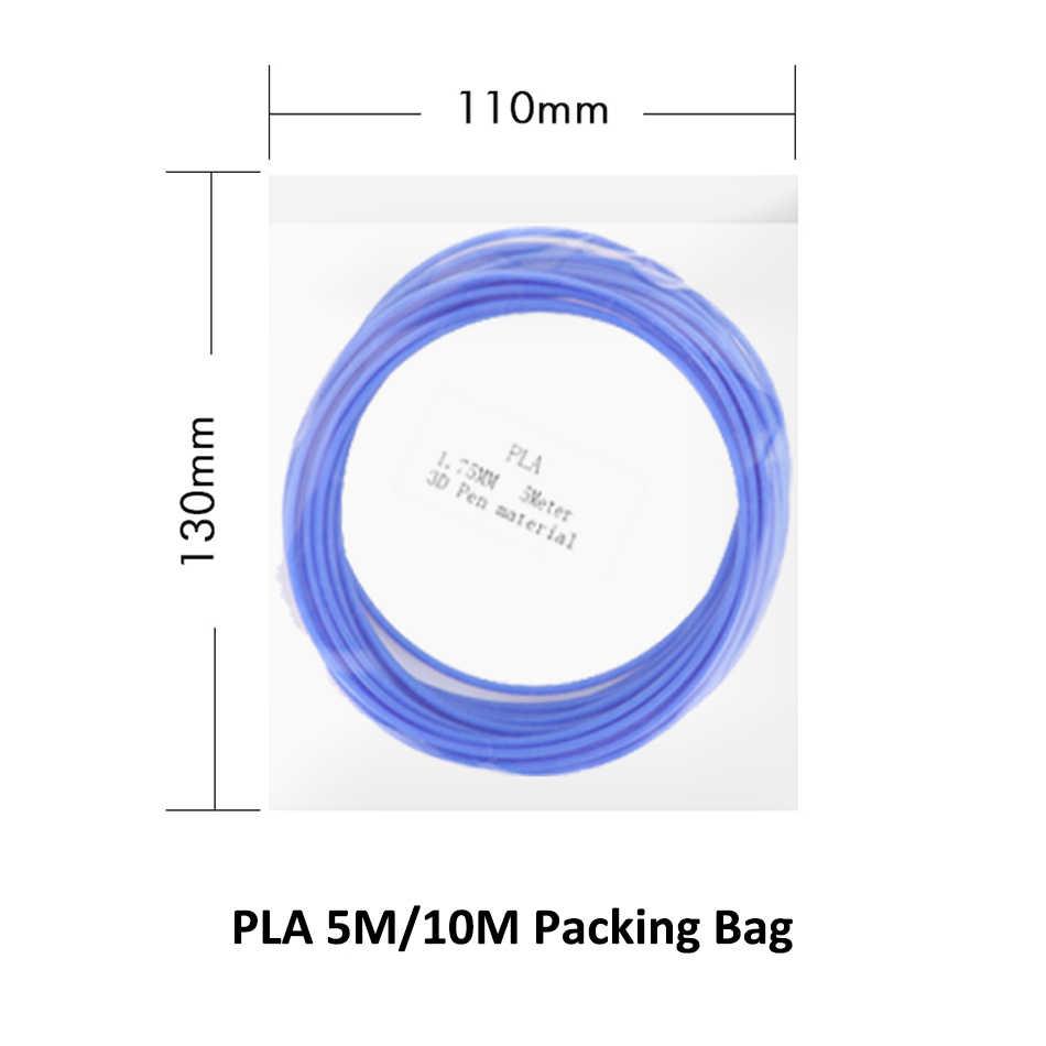 Pla plástico dos materiais de impressão do pla 1.75/SL-300 do filamento da pena do pla SL-300A mm 5m 3d de sunlu