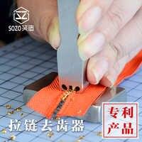 3 #5 # stahl Zahn Entferner Kugeln Cutter Zipper Getriebe Remover DIY Handwerk Werkzeuge DIY Tools