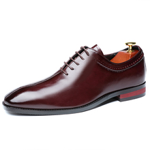 Shoes Loafers Oxfords Business Office-Lace-Up Men's Casual Flat Party Designer