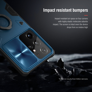 Image 3 - for Samsung S21 Plus Note 20 Ultra Case Nillkin Armor Impact Resistant Slide Camera Lens Protect Cover for Galaxy Note20 S20 FE