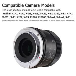 Image 5 - Andoer 50mm F1.8 Digital Camera Lens Large Aperture APS C Mirrorless Camera Len for Sony Olympus Fujifilm Fuji Canon ILDC Camera