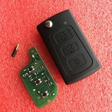 3 düğmeler araba uzaktan anahtar 433Mhz ile ID48 çip büyük duvar GWM Haval H3 H5 Hover h3 h5 araba uzaktan anahtar kılıflı anahtar kılıfı